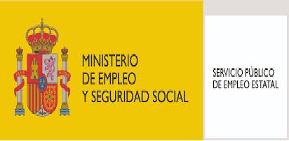 LOGO MINISTERIO EMPLEO Y SEG. SOCIAL Y SEPE