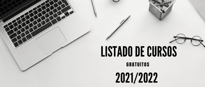 CURSOS GRATUITOS 2021/2022